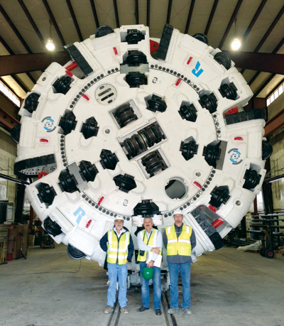 Robbins' TBM Sets Speed Standard